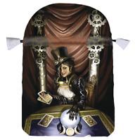 Steampunk High Priestess Satin Tarot Bag by Llewellyn  Pouch Мешочек для таро