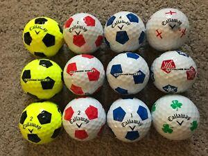 CALLAWAY CHROME SOFT TRUVIS GOLF BALLS  x 12  PEARL / A GRADE