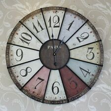 Wooden Quartz (Battery Powered) French Country Wall Clocks