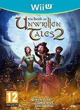 Wii U The Book Of Unwritten Tales 2 Nuevo Precintado Pal España
