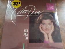 Celine Dion Early Career Vinyl Album - C'est pour toi