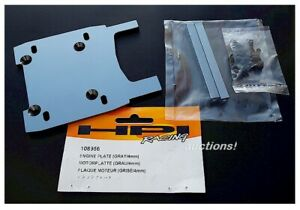 HPI Racing 108956 Gray Engine Plate 4mm Octane Savage XL Octane RTR