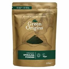 Green origines Organique Spiruline Poudre 225 g