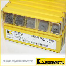 CNGA 432 T0820 KY3500 KENNAMETAL *** 10 INSERTS *** FACTORY PACK *** 3252