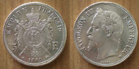 France 5 Francs 1869 Silver Coin Napoleon 3 King Mint BB Free Shipping Worldwide
