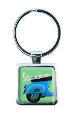 Coole Schlüsselanhänger im Vespa Servizio Stil Vespa Roller blau