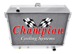 1968 - 1973 Plymouth Roadrunner 3 Row Champion WR Radiator