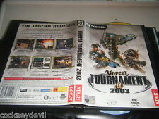 Unreal tournament 2003 fully original 2003  game VGC