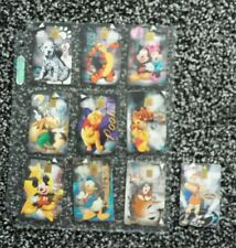 Lot of 10 collectible Disney phonecards. Winnie the Pooh, Mickey Mouse etc