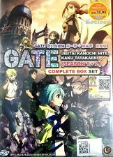 DVD Japan Anime GATE Jieitai Kanochi Nite, Kaku Tatakaeri Season 1+2 English Sub