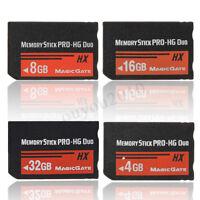 4/8/16 / 32GB Memory Stick MS Pro Duo Speicherkarte für Sony PSP Cybershot  D