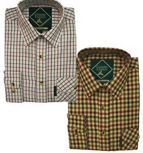 Country Classics Boys Long Sleeve Check Shirt Farming Fishing 6 Months -16 Years
