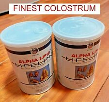 FINEST 2 X ALPHA LIPID LIFELINE COLOSTRUM MILK POWDERED DRINK 450G FAST SHIPPING