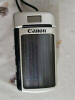 Canon Sure Shot del Sol Solar powered 35mm camera
