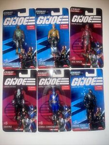 ✅NEW GI JOE Limited Edition Mini Figures COMPLETE Set Of 6 Official Hasbro