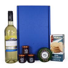 White Wine & Cheese Food Gift Hamper Box - Anniversary & Birthday Gift Ideas