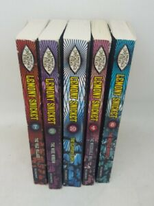 A Series of Unfortunate Events 5 Book Collection. Hostile Hospital, Miserable ..