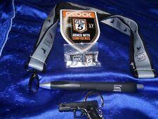 Glock Pen, Model 17 Key Chain, Lanyard, Gen 5 Shield-Shaped Decal, Gen 5 Hat Pin