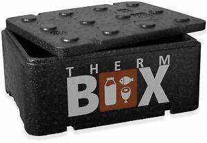 THERM BOX Styroporbox Klein 12 Liter Isolierbox Thermobox Warmhaltebox Kühlbox