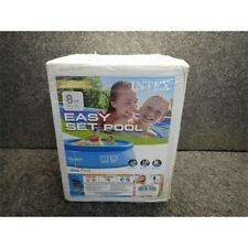 """Intex 28110Eh 8' x 30"""" Easy Set Inflatable Above Ground Swimming Pool"""