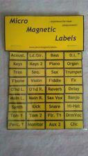 Mixer Labels