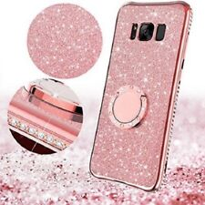 Samsung Galaxy S8 Plus Case Cute Bling Phone Case for Girls Women Ring Kickstand
