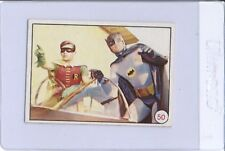 1966 A&BC BATMAN & ROBIN #50 Vintage Superhero Card