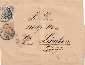 Austria 1897. Wrapper uprated for international 1st weight