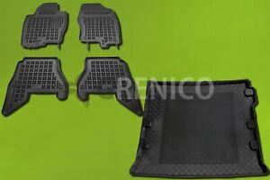 PREMIUM Antirutsch Gummi-Kofferraumwanne für Nissan Pathfinder 2005-2014