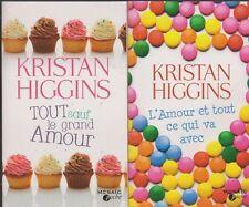 TOUT SAUF LE GRAND AMOUR - L'AMOUR ET TOUT CE QUI VA AVEC Higgins roman LIVRE