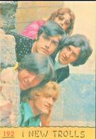 FIGURINA  PANINI  CANTANTI & SPETTACOLO 1968-I NEW TROLLS-N.192*REC.