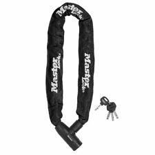 Master Lock Bicycle Bike Chain Lock Security Chain 2 Keys Steel 8391EURDPRO