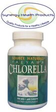 "Source Naturals Yaeyama Chlorella 200 mg - 600 Tablets ""Green Superfood"" Japan"