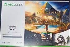 *NEW* Xbox One S 1TB Console Assassin's Creed Origins w/Rainbow 6 Siege Bundle