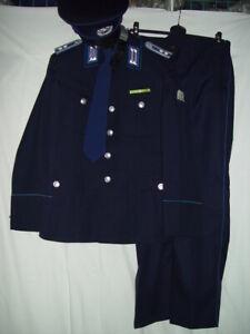 DDR Trapo Transportpolizei Uniform Meister, Jacke m48-1, Hose m48, ungetragen