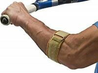 "Cho-Pat Tennis Elbow Support Strap, Medium: 10.5""-12"", Tan"