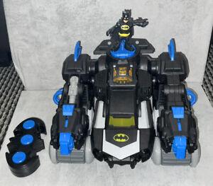 Fisher Price DC Superheroes R/C Transforming Batbot - VGC