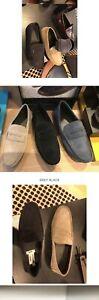 Authentic COACH Mott Driver Mens Shoes Suede Brown Size US7.5
