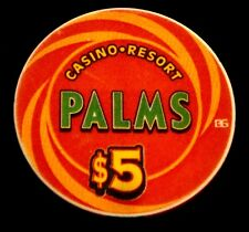 PALMS Las Vegas $5.00 Casino Chip ACES Limited Edition Blackjack Poker MINT $5