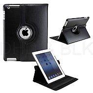 Delton Swivel Folio Case for for ipad2/new for ipad BLACK