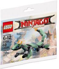 LEGO NINJAGO MOVIE POLYBAG GREEN DRAGON NINJA MECH 30428 BUILDING TOY