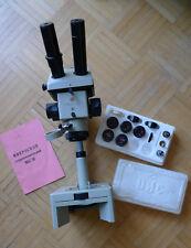LZOS MBS-10 Stereo Mikroskop inkl. Okularsatz und original Handbuch