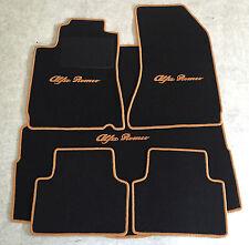 Autoteppich Fußmatten Kofferraum für Alfa Romeo 159 Sportwagon sw-cognac Velours