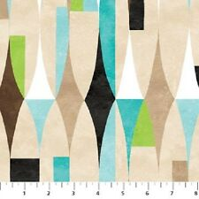 Modern Elements Fabric by Northcott ,100% cotton, 20390-63, BTY