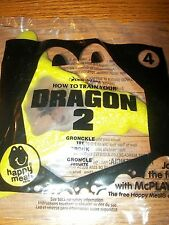 McDonald's How to Train Your Dragon 2 Gronckle Frisbee Happy Meal Toy NIP #1