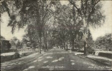 New Bedford MA Hawthorn St. c1910 Postcard