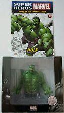 MARVEL SUPER HEROS BUSTE HULK EN RESINE + CERTIFICAT + LIVRET ALTAYA NEUF