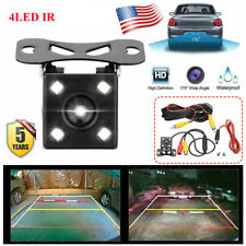 Wired 170° Rear View Reverse Backup Car Parking Assist Camera Night Vision USA