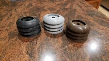 4x Coleman Power Steel Round leg Frame Pool Footings caps P61338