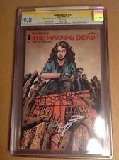 CGC SS 9.8 Walking Dead #127 signed Robert Kirkman Charlie Adlard & Paul Azaceta
